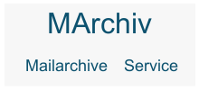 MAarchiv Mail Archiv